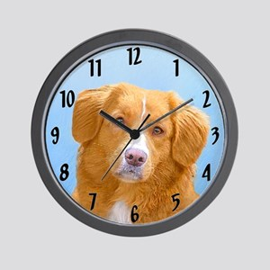 Nova Scotia Duck Tolling Retriever Wall Clock