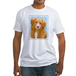 Nova Scotia Duck Tolling Retriever Fitted T-Shirt
