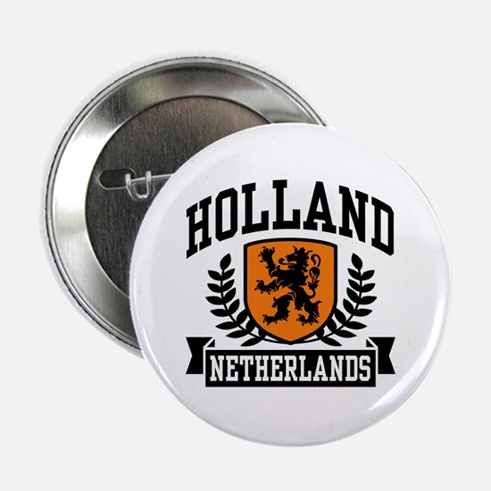 "Holland Netherlands 2.25"" Button"