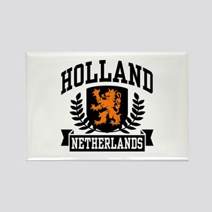 Holland Netherlands Rectangle Magnet