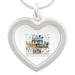 ABH California Nature Silver Heart Necklace