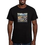 ABH California Nature Men's Fitted T-Shirt (dark)
