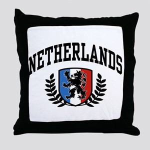 Netherlands Throw Pillow