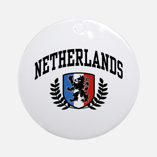 Netherlands Ornament (Round)