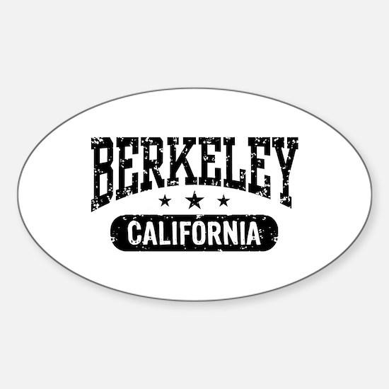 Berkeley California Oval Decal
