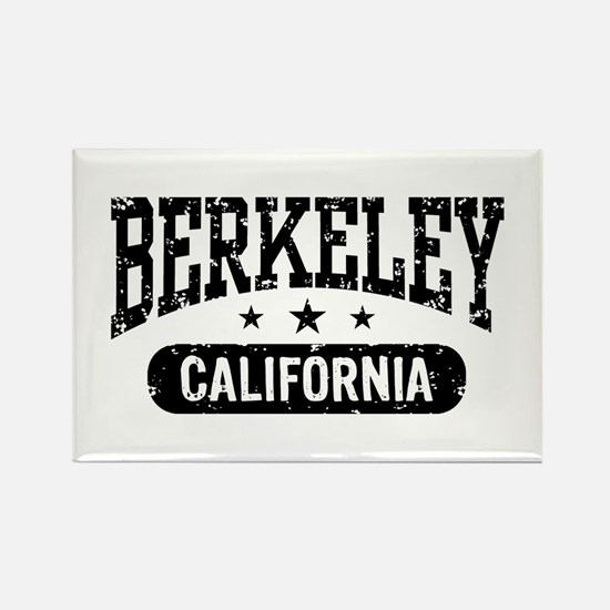 Berkeley California Rectangle Magnet