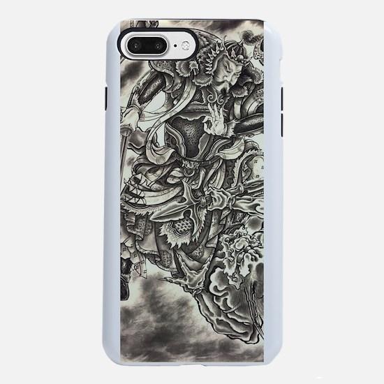 Vintage japanese samurai  iPhone 7 Plus Tough Case