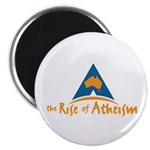 The Rise Of Atheism Magnet