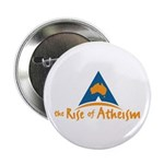 """The Rise Of Atheism 2.25"""" Button (100 pack)"""