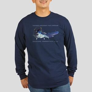 Corsair F4U Long Sleeve Dark T-Shirt