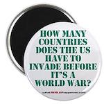 IS IT A WORLD WAR YET? Magnet