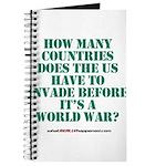 IS IT A WORLD WAR YET? Journal