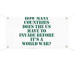 IS IT A WORLD WAR YET? Banner