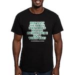 IS IT A WORLD WAR YET? Men's Fitted T-Shirt (dark)