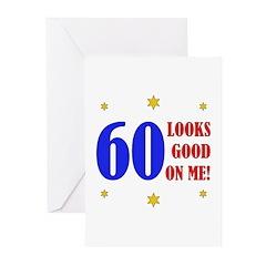 Fun 60th Birthday Greeting Cards (Pk of 20)