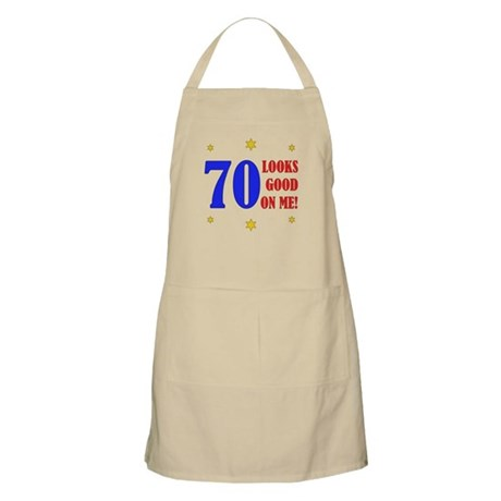 Fun 70th Birthday Apron