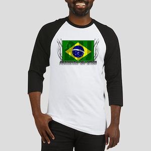 BJJ Brazilian Jiu Jitsu Triba Baseball Jersey