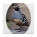 California Quail Tile Coaster