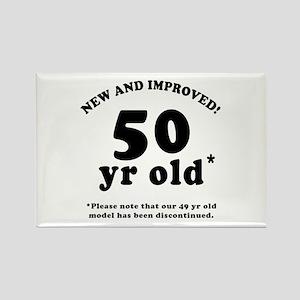 50th Birthday Gag Rectangle Magnet