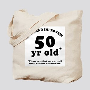 50th Birthday Gag Tote Bag