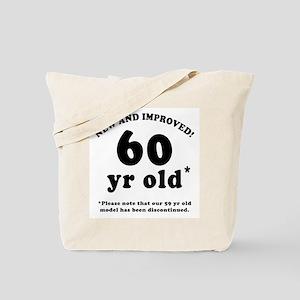 60th Birthday Gag Gifts Tote Bag
