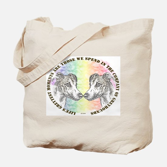 COMPANY OF GREYHOUNDS TOTE BAG