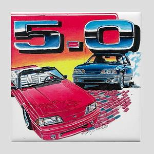 Mustang 5.0 Tile Coaster