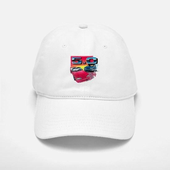 Mustang 5.0 Baseball Baseball Cap
