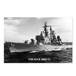 USS LUCE Postcards (Package of 8)