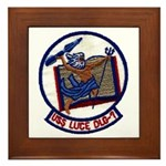 USS LUCE Framed Tile