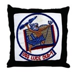 USS LUCE Throw Pillow
