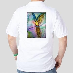 Blue macaw, Golf Shirt
