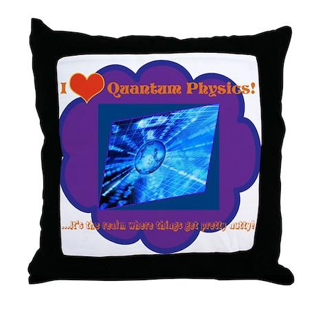 Quantum Mechanics Whack Throw Pillow