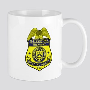 Customs Badge 2 Mug