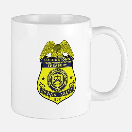 Customs Badge 2 Mug