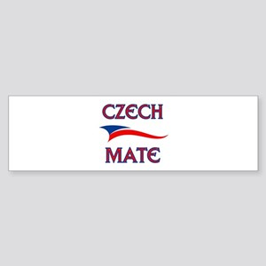 CZECH MATE Bumper Sticker