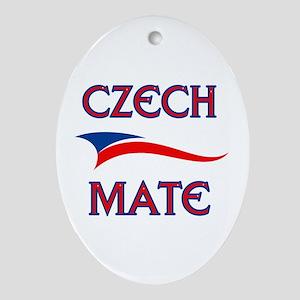 CZECH MATE Oval Ornament