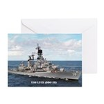 USS LUCE Greeting Cards (Pk of 10)