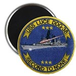 "USS LUCE 2.25"" Magnet (100 pack)"