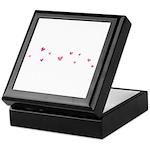 hearts Keepsake Box