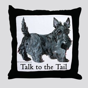 Scottish Terrier Attitude Throw Pillow