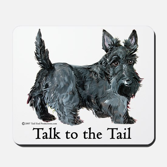 Scottish Terrier Attitude Mousepad
