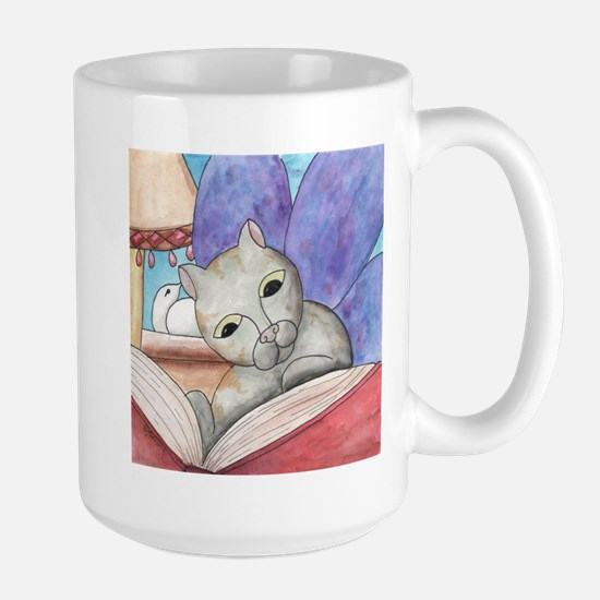 A Good Book Large Mug
