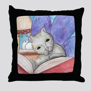 A Good Book Throw Pillow