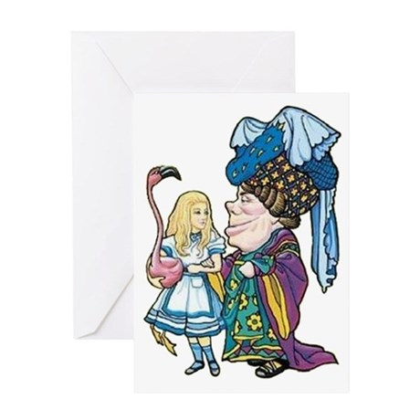Alice and the Duchess Greeting Card