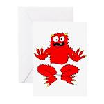 monster toddler Greeting Cards (Pk of 10)