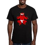 monster toddler Men's Fitted T-Shirt (dark)