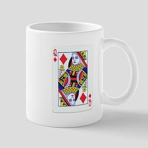 Queen of Diamonds Mug