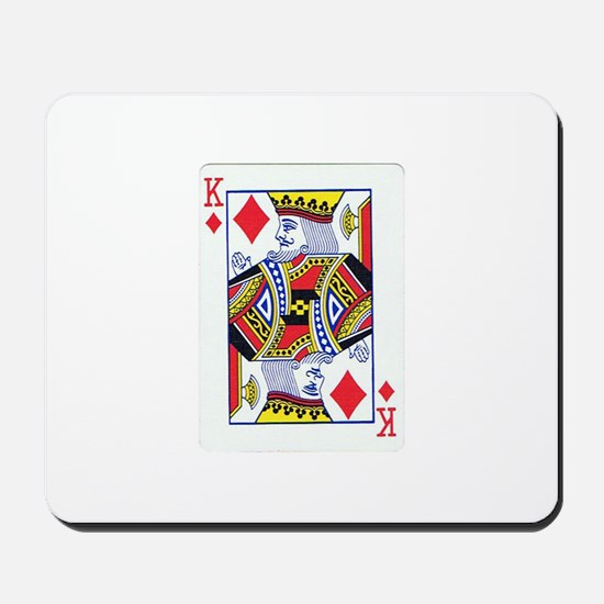 King of Diamonds Mousepad