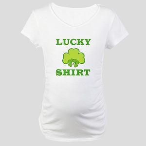 Lucky Shirt Maternity T-Shirt